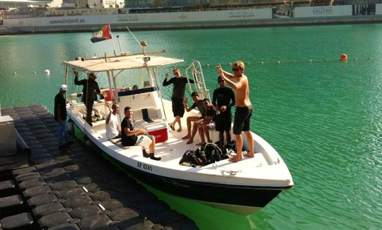 Boat Diving Trip In Abu Dhabi