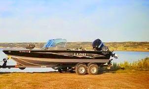 Bass Boat Fishing Trips in Oacoma, South Dakota