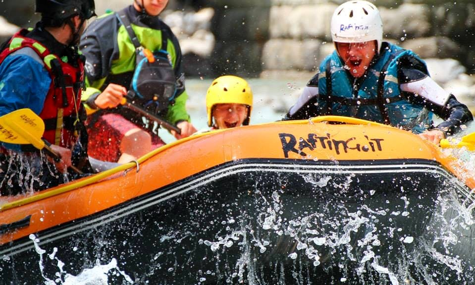 Rafting River Trip in Morgex