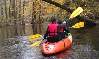 Experience a Tandem Kayaking Trips in West Columbia, South Carolina