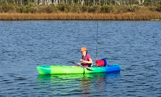Kayak Fishing Trips In Pass Christian, Mississippi
