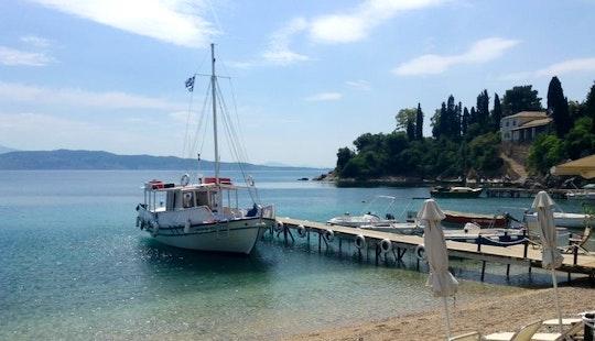 'antonios' Traiditional Kaikia Boat Charter In Kerkira