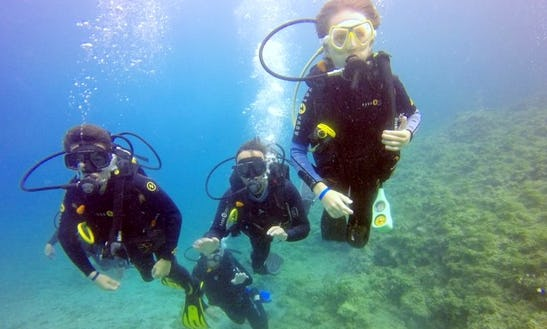 Diving Trips In Rodos, Greece
