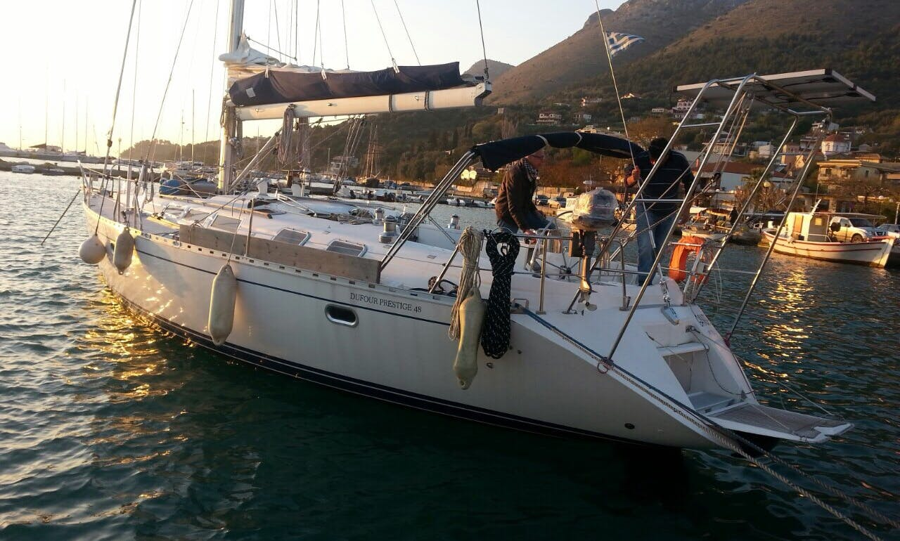 Charter the 49' Dufour Sailboat in Plataria, Greece