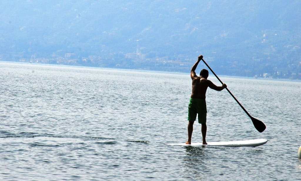 Group or Individual SUP Lessons in Brenzone, Italy
