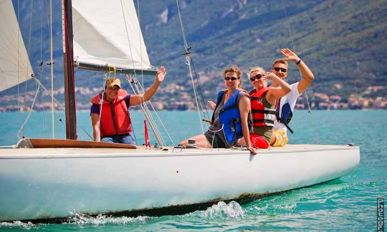 Sailing Lessons in Brenzone, Italy