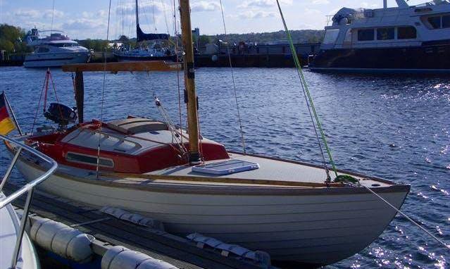 """25' Folkboat """"Red Pearl"""" In Flensburg"""