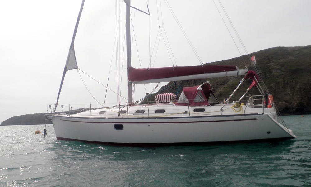 43' Gib Sea Saling Yacht In Granville