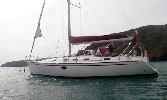 43' Gib Sea Saling Yacht In Granville