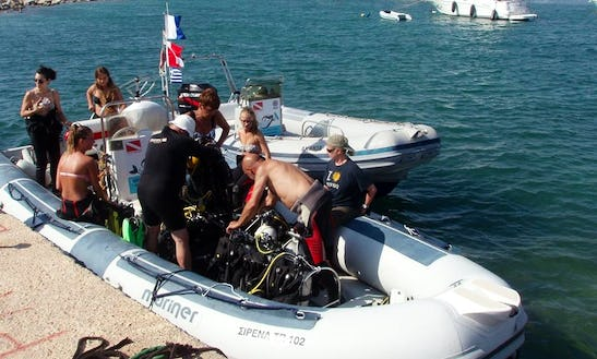 Rib Diving Trips In Messinia, Greece