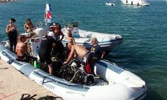 RIB Diving Trips in Messinia, Greece