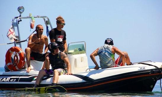 Fun Day Wakeboarding In Domus De Maria, Italy