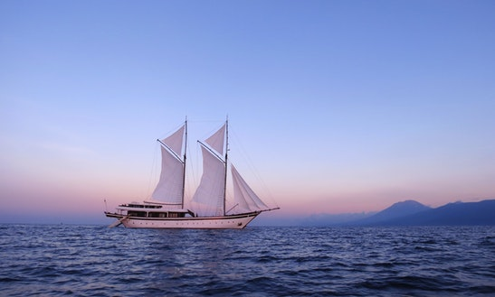 Contemporary Phinisi Yacht For Charter In Indonesia