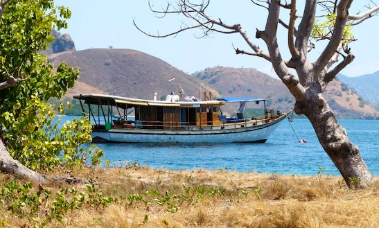 Traditional 'phinisi' Boat Charter In Bali And Komodo, Indonesia