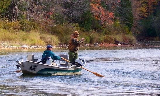 Drift Boat Fly Fishing Trip In Burlington
