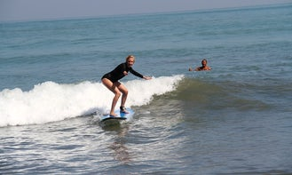 Surf Lessons For 330000 IDR for 1 Hour in Kuta