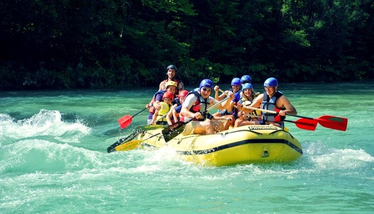 Rafting Trips In Bled