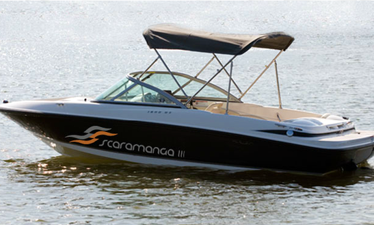 Scaramanga Iii Maxum Speedboat Charter In Nerul