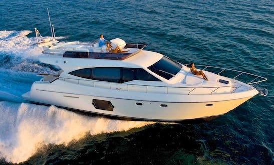 51ft Fly Bridge Motor Yacht Charter In Nessebur