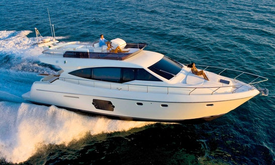 51ft Fly Bridge Motor Yacht Charter In Nessebur