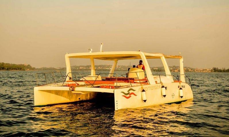 """Scamaranga II"" Cruising Catamaran Charter in Nerul."