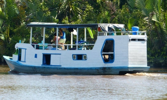 Houseboat Tours In Kumai