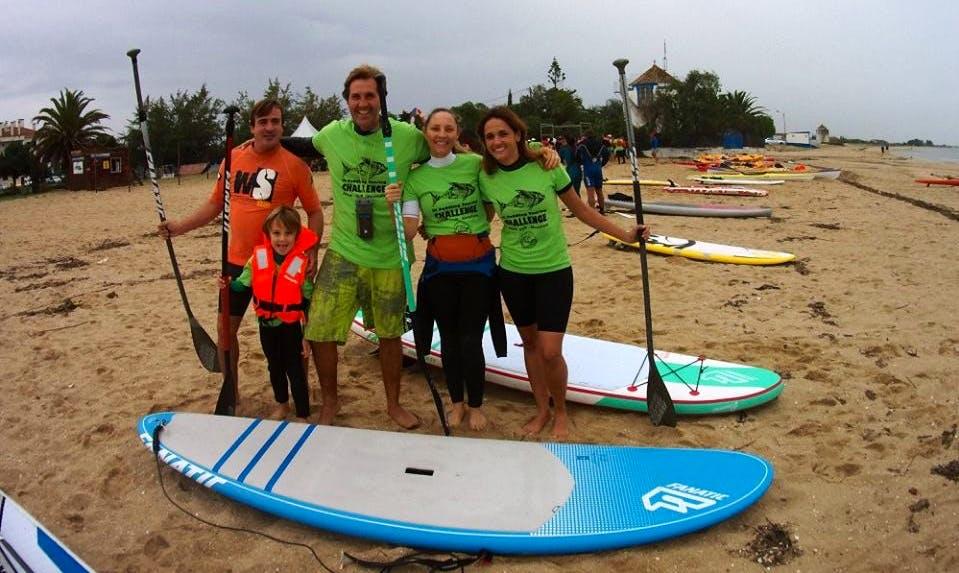 Paddleboard in Costa da Caparica