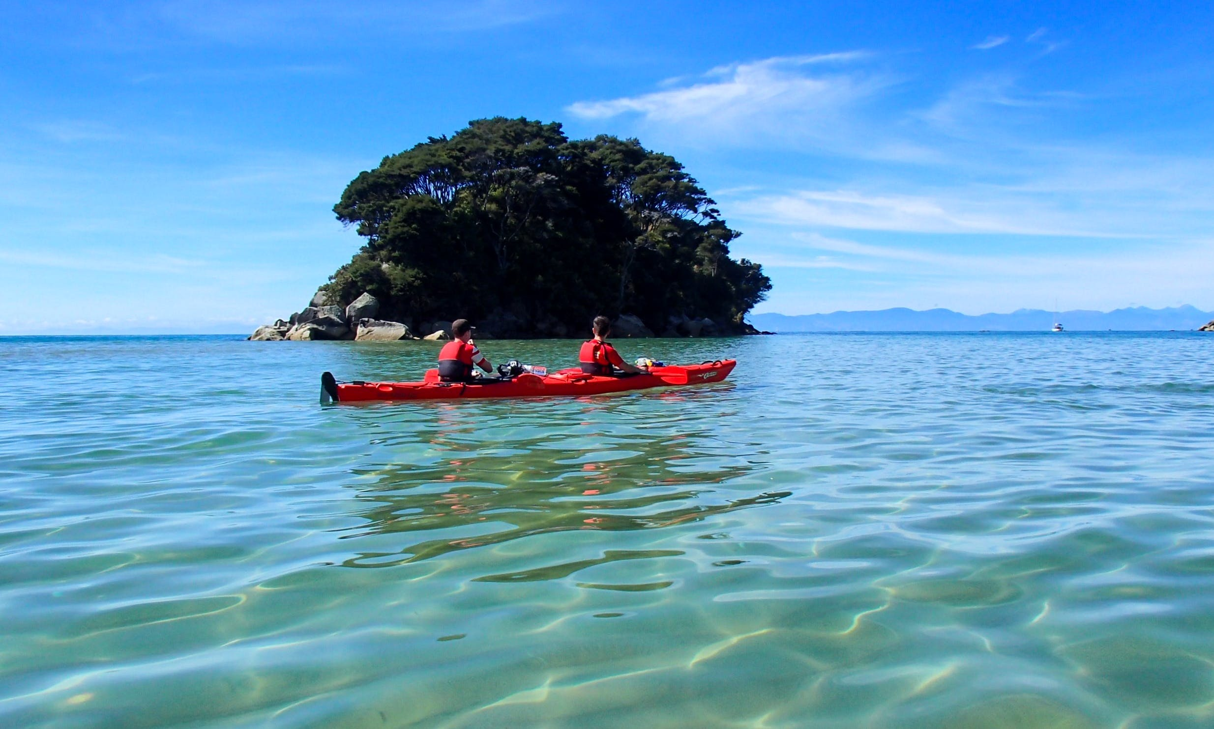 1 Day Kayak Rental in Abel Tasman