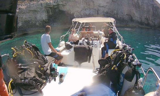 Scuba Diving Excursions In Kerkira