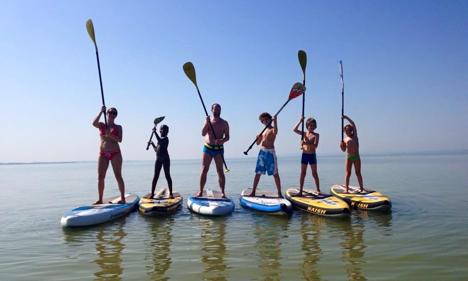 Stand Up Paddleboard Rental In Wien