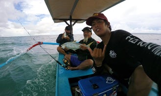 Outrigger Boat Fishing Charter in Kuta