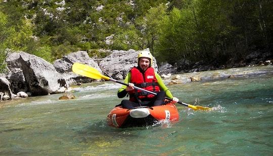 Air Kayak Course In Castellane