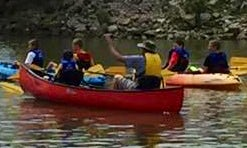 3-Miles Canoe River Trips on Auglaze River in Ohio with Douglas and Bonnie!