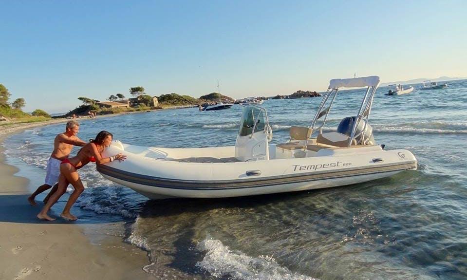 Capelli Tempest 626 Boat Hire in Marseille