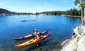 Kayaking with your friends in Eastsound, Washington