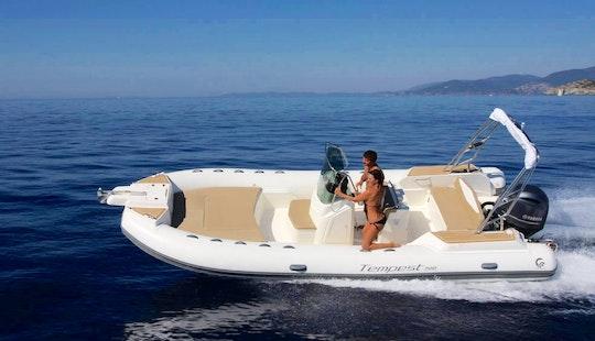 Capelli Tempest 700 Boat Hire In Marseille