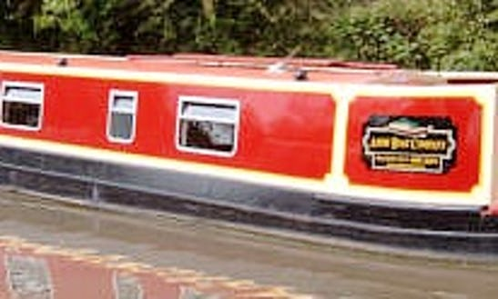 Hire Luxury 2 Berth Canal Cruiser In Stoke Golding