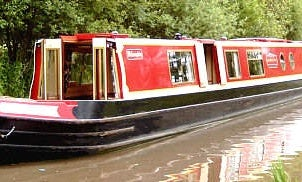 """62' Canal Cruiser """"Willoughby"""" In Stoke Golding"""