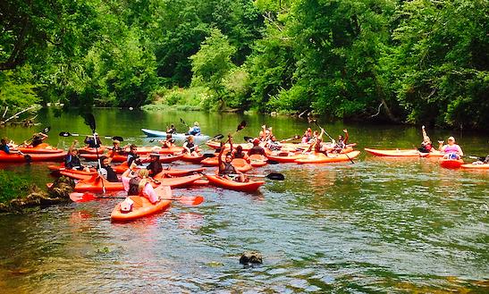 Single Kayak Rental In Piedmont