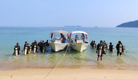 Daily Diving Trips In Mersing