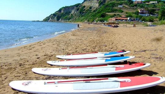 Stand Up Paddleboard Hire In Kerkira