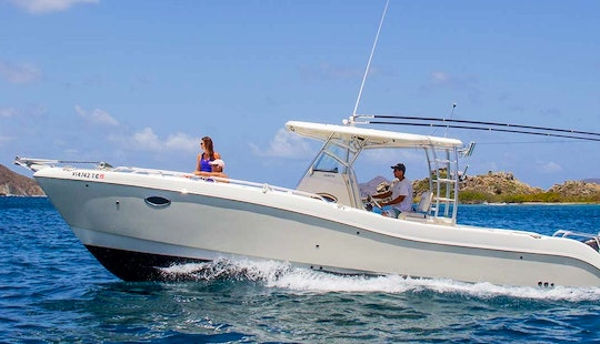 St Thomas Power Catamaran Charter In Us Virgin Islands