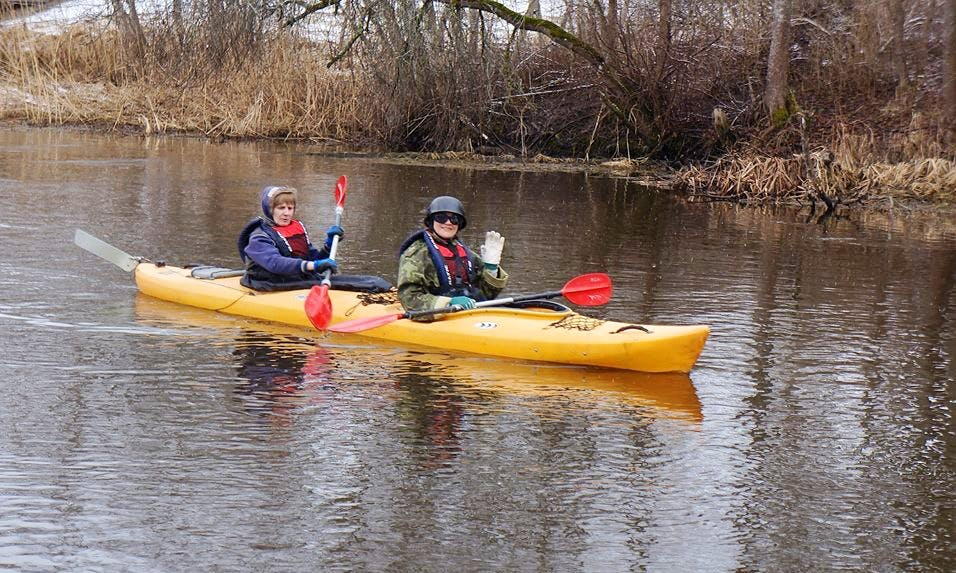 Kayaking Trips in Polva