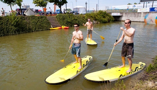 Stand Up Paddleboard Rental In Cunovo