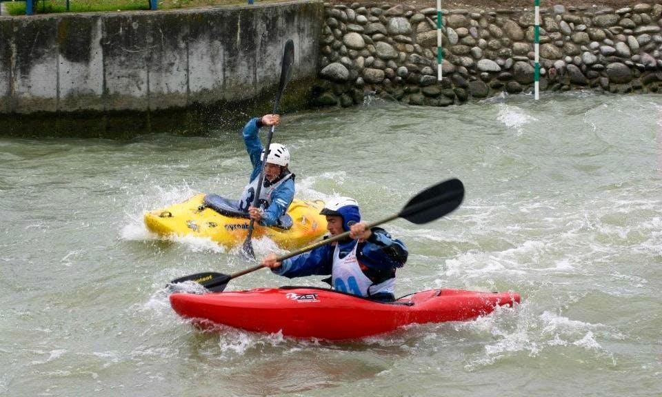 Kayak School in Cunovo