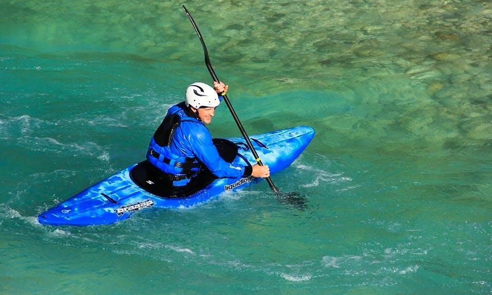Kayak Tour and Courses in Trnovo ob Soči