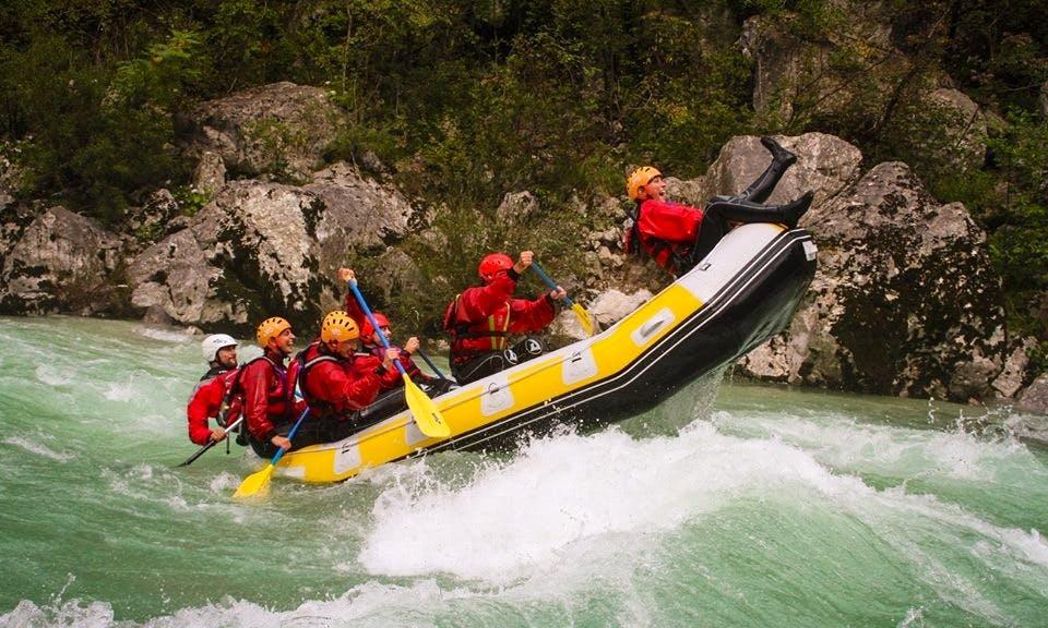 Rafting Trips in Trnovo ob Soči