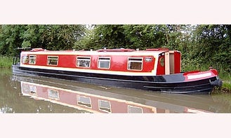 """56' Canal Boat """"Moira"""" In Stoke Golding"""
