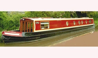 """Hire 4-7 People Berth """"Golding"""" Canal Boat In Stoke Golding"""