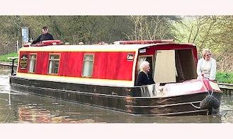 "55' Canal Boat ""Carlton"" In Stoke Golding"